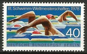 Germany Berlin 1978 MNH Sport Swimming Championships Mi 571 SG B555