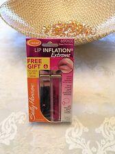 Sally Hansen Lip Inflation Extreme Sheer Pink Berry 6690N30 W/ Free Gift