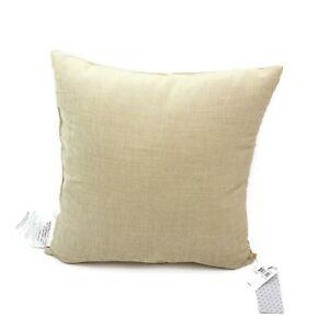 "Hallmart Collectibles Gold Textured 18"" Square Decorative Pillow"