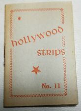 Hollywood Strips Booklet No. 11 Netherlands Maple Leaf Bubble Gum Premium