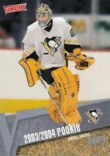 MARC-ANDRE FLEURY RC 2003-04 UPPER DECK VICTORY GOLD ROOKIE CARD PENS VEGAS MVP?
