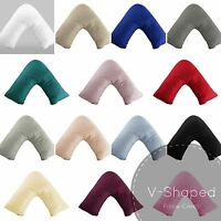 V Shape Pillow Case Orthopaedic Pregnancy Nursing Support Neck Cushion Maternity