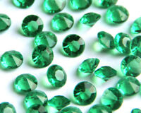 Dark Green Wedding/Party Table Gems/Confetti/Decorations Crystal 4.5mm 1/3 Carat