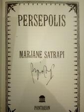 Marjane Satrapi Persépolis Edition originale américaine signée