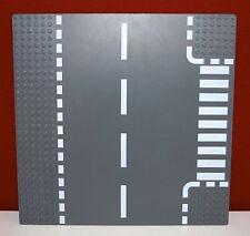 Lego Platte, Straßenplatte, Basic 44341 dark bluish gray, 32x32,T-Kreuzung,25x25