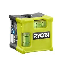 Ryobi Laser Cube Compact Laser Level 10ft Range Horizontal Vertical Bubble Tool
