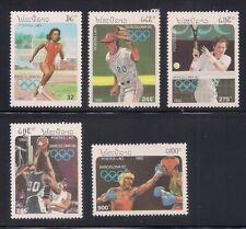 Laos   1991   Sc # 1058-62   Olympic   MNH   (1-532)