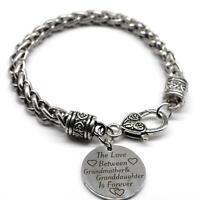 Follow Your Heart Braid Bracelet Inspiration Jewelry SB29