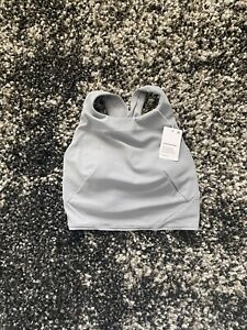 NWT Lululemon Forward Fold Bra In Rhino Grey! Size 4!