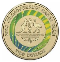 💫2018 $2 Coins Commonwealth Game Collection Two Dollar Coloured Coin⭐️ Low Mint