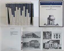 DVA - Weltgeschichte der Architektur 1985/87 - 17 Bände illustriert - xz
