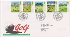 GB ROYAL MAIL FDC FIRST DAY COVER 1994 GOLF STAMP SET BUREAU  PMK