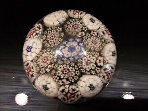 SCARCE ANTIQUE Bohemian Art Glass Paperweight