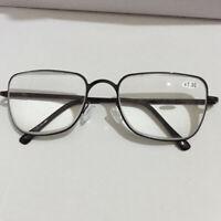 Designer Trendy Reading Glasses +6.5 +7.0 +7.5 +8.0 High Strength Metal Frame