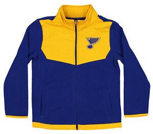 Outerstuff NHL Youth (4-18) St. Louis Blues Zip Up Fleece Jacket