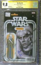 Star Wars #45 Action Figure variant__CGC 9.8 SS__Signed by Michael Carter