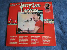 THE JERRY LEE LEWIS COLLECTION - NEAR MINT 2LP SET - 1974 PICKWICK LABEL