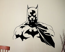 Batman Vinyl Wall Decal Superhero Sticker Marvel Comics Movie Art Room Decor 7ez