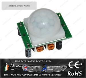 Pyroelectric IR Infrared PIR Motion Sensor Detector Module HC-SR501 Arduino