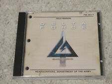 Delta Force Field Manual PC Game CD Rom