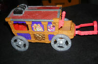 FISHER PRICE GREAT ADVENTURES MAGIC CASTLE ROYAL COACH