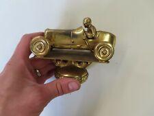 Vintage 1930's 40's Racing trophy Sprint Car brass topper No Reserve original