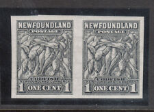 Newfoundland #184c Extra Fine Never Hinged Imperf Pair