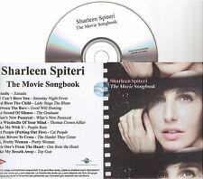 SHARLEEN SPITERI the movie songbook CD ALBUM PROMO france paper sleeve TEXAS