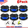 6Pack String Trimmer Replacement Ryobi 18/24/40V Spool Line Weed Eater Edger