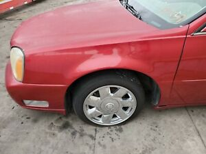 1999 2000 2001 2002 2003 2004 2005 CADILLAC DEVILLE LEFT DRIVER FENDER RED