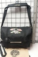 ED HARDY NWT EAGLE & Flags  Large Shoulder Laptop Case Luggage 100% ORIGINAL
