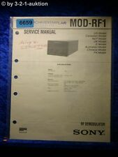 Sony Service Manual MOD RF1 RF Demodulator (#6659)
