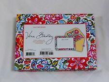 New Vera Bradley INVITATIONS in HOPE GARDEN MSRP $23 Box of 12 English Garden