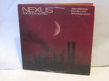 JOHN KLEMMER - Nexus for Duo & Trio ~ NOVUS 3500 {nm orig}[2 lp set] w/Magunsson