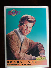 1991 EMI Legends of Rock N' Roll Bobby Vee 5 X 7 Promotional Card #2