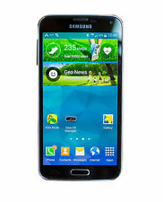 INBOX NEW Samsung Galaxy S5 SM-G900P 16GB Charcoal Black Sprint Clean ESN
