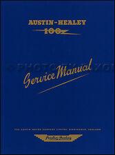 Austin Healey 100 Shop Manual 1953 1954 1955 1956 Repair Service BN1 BN2 4 Cyl