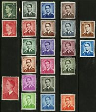 Belgium   1952-72   Scott #446-471   MNH Part Set