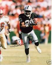 JERRY RICE - Los Angeles Oakland Raiders Signed Autographed reprint Photo 8x10 !
