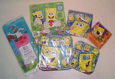 Sponge Bob Squarepants Party Ware for 8 Guests- 6 Piece