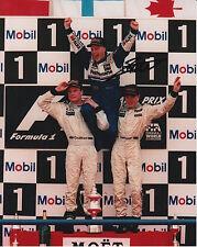 Jacques Villeneuve mano firmato ROTHMANS WILLIAMs RENAULT Formula 1 12x8 FOTO 2.