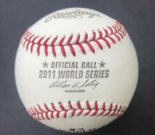 2011 Rawlings Official World Series Ball ST LOUIS CARDINALS