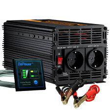 Power Inverter 2000W/4000W DC 24V to AC 240V Auto Converter soft start