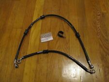 YAMAHA R3 RUSSELL BRAKE CABLES FRONT REAR NICE NEW DOT APPROVED