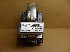 DANLY VTCU5 MOTION DETECTOR TYPE ITSC2 DANLY/VERSON OEM PART 115 VAC INPUT NOS