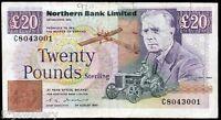 vero del Nord Banca Ltd Belfast TWENTY BANCONOTA 1988 1989 1990 1992 1993 1996