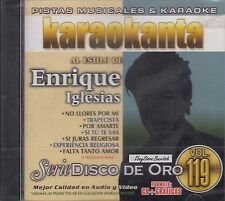 Enrique Iglesias Serie Disco De Oro Vol 119 Karaoke New Nuevo sealed