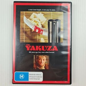 The Yakuza DVD - Robert Mitchum, Takakura Ken - Region 4 - TRACKED POSTAGE