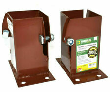 Timco Taurus Flush Fit Bolt Down Shoe - Oxide Red (FBDB75)