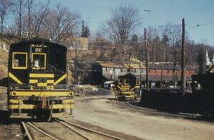 Traction Slide - Springfield Terminal Railway #20 & 15 Electric Engines Vermont